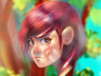 character paint...
