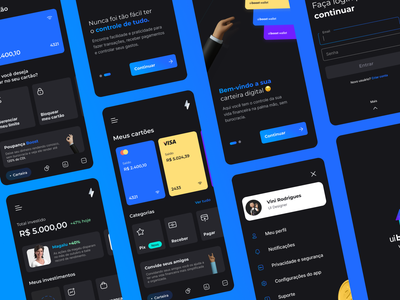 uiBoost Wallet finance user interface wallet illustration app uiboost ui figma uidesign interface