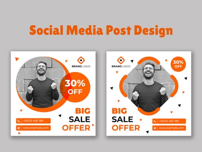 Facebook  Instagram sale banner design