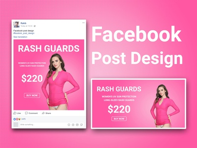 Product ads design for facebook