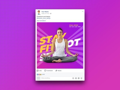 Facebook Post Design