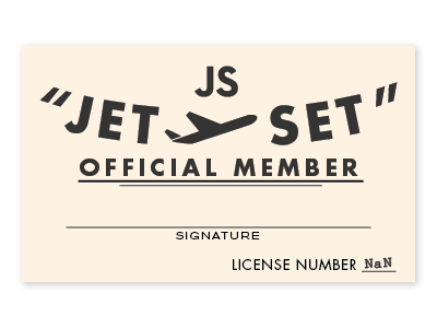 The Jetset silly
