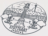 Love letter to Stuttgart.