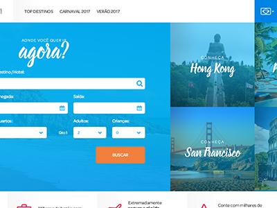 Travelzite tourism travel web webdesign ux ui