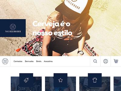 The Beerhood magento 2 magento beer webdesign ux e-commerce ecommerce