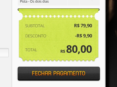Ticket ticket ecommerce bleez ingresso checkout payment magento