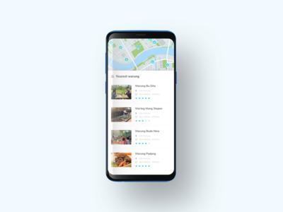 Warung mobileapp concept