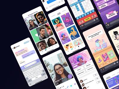 XO Dating App dee design games love app phone ios dating app dating xo ux ui