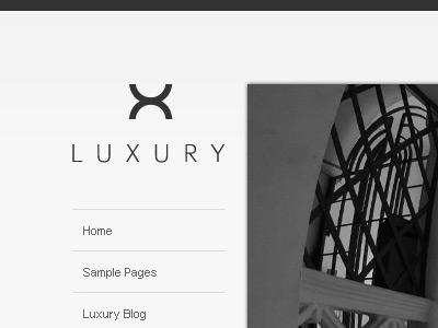 Luxury Header / Logo logo minimal header website web site