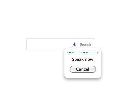 Voice Input via X-Webkit-Speech search wordpress form speak voice input