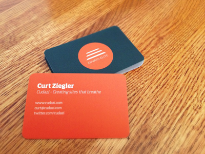 Envato Elite Business Cards in Action business cards envato elite