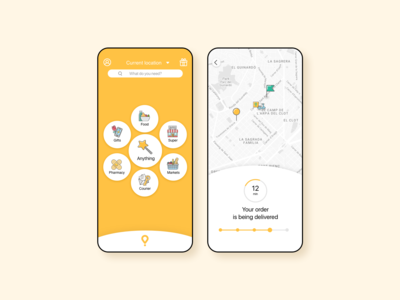 B2C Delivery App