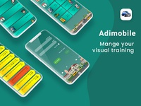 App-Car driving training(UX/UI Design)
