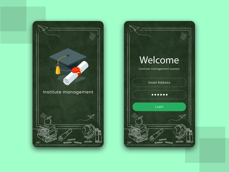 Education app creative logo designs ui ux illustration form design login form study app free education app free app app  design app