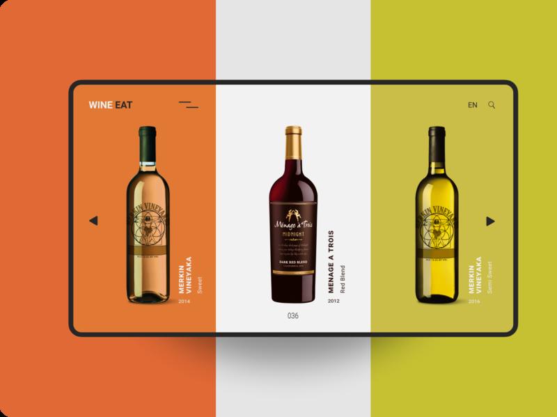 Vine light easy dashboard best design shop orange green colorful vine