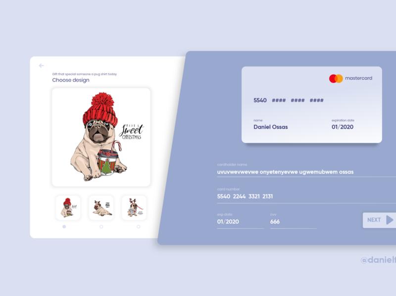 Puglove website form UI/UX design