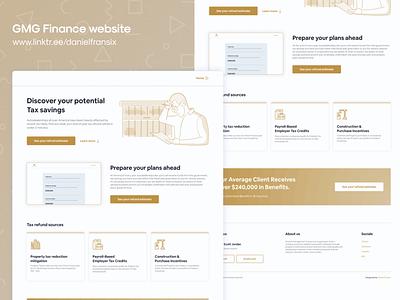GMG Finance website bank bnb money app finance vector adobe xd design web design interface app design android app design ui  ux ux design ui design