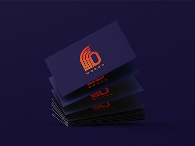 MODUN _ logo design realestate logo illustration logo design branding identity branding