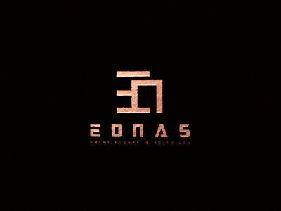 EDNAS design branding logo