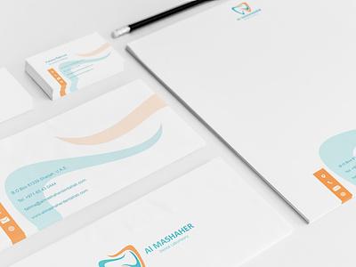 Stationery Design branding identity design branding dentist logo dentist