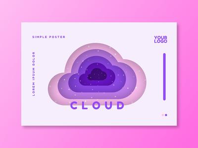 Paper Purple Background