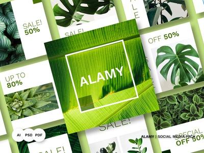 ALAMY Social Media Pack