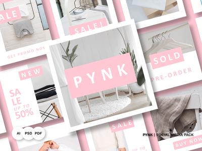 PYNK Social Media Pack