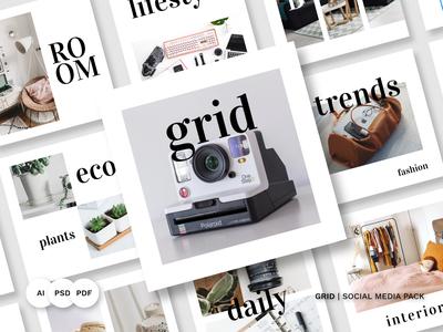 Grid Social Media Pack