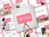 Putyh Social Media Pack