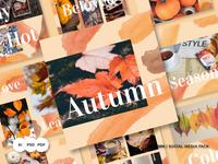 Autumn Social Media Pack