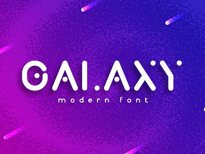 Galaxy Beed Rounded - Modern Font illustration logo social media facebook instagram branding vector design font awesome font family font design fonts font