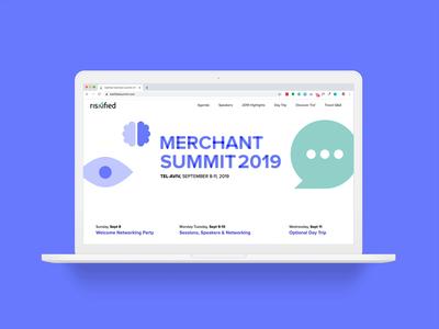 Merchant Summit Mini-site
