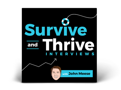 Podcast Art: Survive and Thrive Interviews with John Meese podcast artwork podcasting podcast art podcast