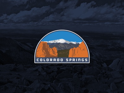 Colorado Springs sticker