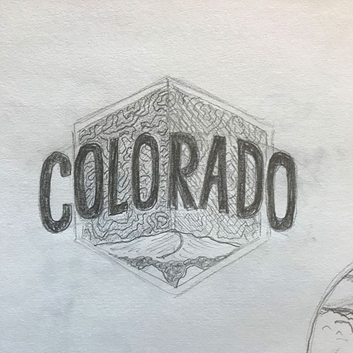 Co sticker sketch