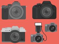 Illustrated Cameras