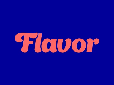 Flavor Logo local business small business tennessee nashville typography wordmark logotype company profile company logo business sprinkles graphic logo design flavor logo