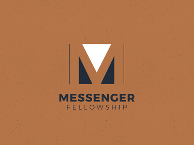 Messenger Fellowship Logo branding church marketing church branding church design nashville organization nonprofit non-profit lettermark logos christian church logo church ministry
