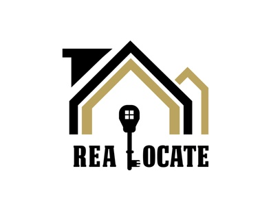 """ReaLocate"" a Real Estate and Mortage graphicdesigner graphicdesgn branddesigner logodesigner mortgages mortgage realestate logo realestate brand identity design branding graphic design logo"