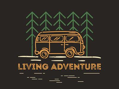 Vintage logotype concept for Outside adventures. camping logodesigner graphicdesigner branddesigner typography brand identity design branding graphic design logo
