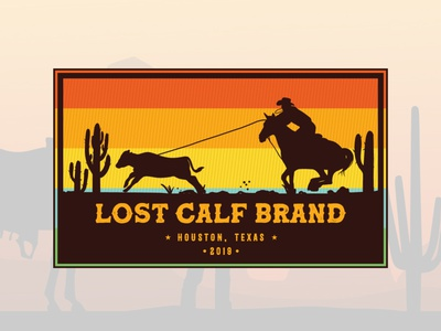 Lost Calf - A western patch design brand identity graphic design branding agency branding design branding branddesigner graphicdesigner logo designers logodesigners logodesigner logo designer logo western australia western patch design patchwork patch patches