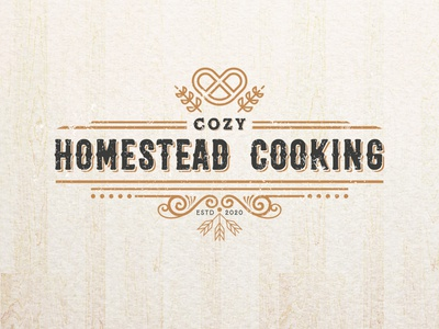 Cozy Homestead Cooking. brand identity graphicdesigner graphic design logodesigner bakery packaging bakery logo bakerylogo bakery baked baker bake cake logo cake shop cakery cakes cake