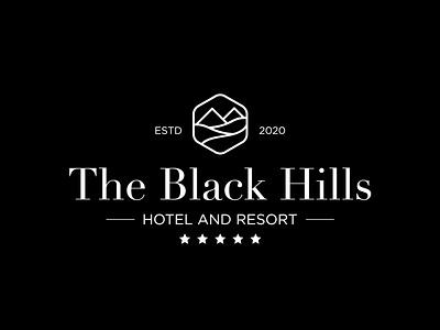 The Black Hills hotel and resort. brandingagency brandingdesigner branddesigner graphicdesigner logoideas logomaker logos logodesign logodesigner resortlogo resort hotelbrands hotellogo hotelbranding hotelmarketing hotel