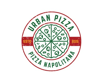 "Logo and brand design for ""Urban Pizza"" mockup graphicdesigner logos logoideas logomaker logodesigner brandingagency brandingidentity branding foodporn pizzalovers pizzalover food foodlogo pizzalogo pizza"