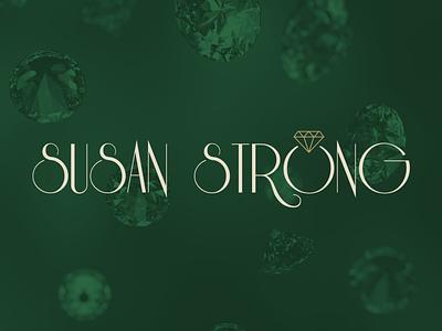 Susan Strong Jewelry logo 3d luxurylogo luxury branddesigner graphicdesigner diamondlogo diamond brandingidentity branding logoideas logomaker logodesigner jewellerydesign handcraftlogo handcraft jewelrydesign jewelrylogo jewellery jewelry