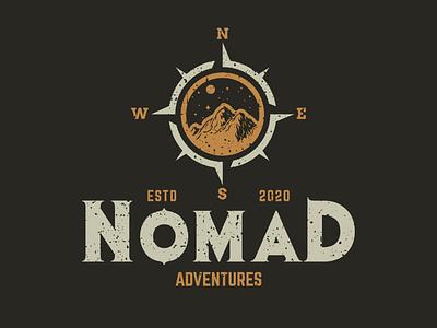 Nomad Adventures adventure adventures adventurer adventuretime outdoor outdoors outdoorlogo outdoorbadge adventurelogo tees teeshirt teespring tshirts tshirtart tshirtdesign tshirt logos logotype logodesign logodesigner