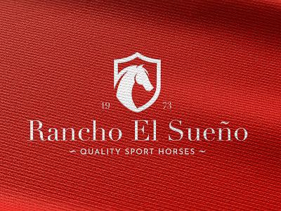 "Proposal wordmark logo design for ""Rancho El Sueño"". logo branddesigner brandingagency graphicdesigner logoconcept logoideas logomaker logodesigner logos outdoors outdoor patchdesign westernwear westernlogo western horselogo horse ranchlogo rancho ranch"