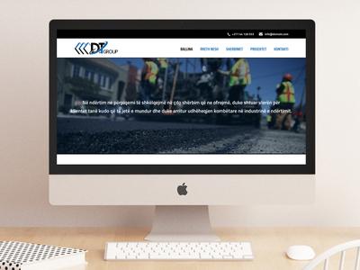 Website for D&T Group - www.dtgroup-ks.com