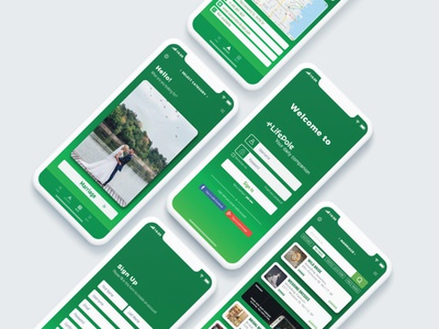 LifePole App Design