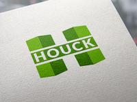 Houck Construction Inc. Logo design